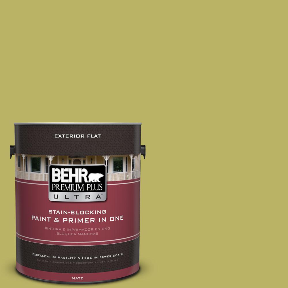 1-Gal. No.PPU9-6 Riesling Grape Flat Exterior Paint