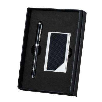 Executive Pen and Business Card Set