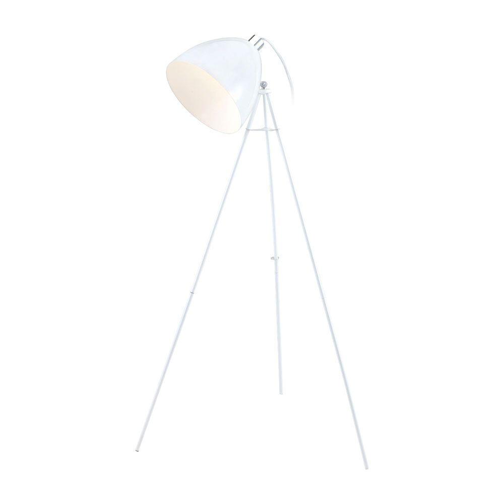 Eglo Don Diego 52.91 in. White Floor Lamp