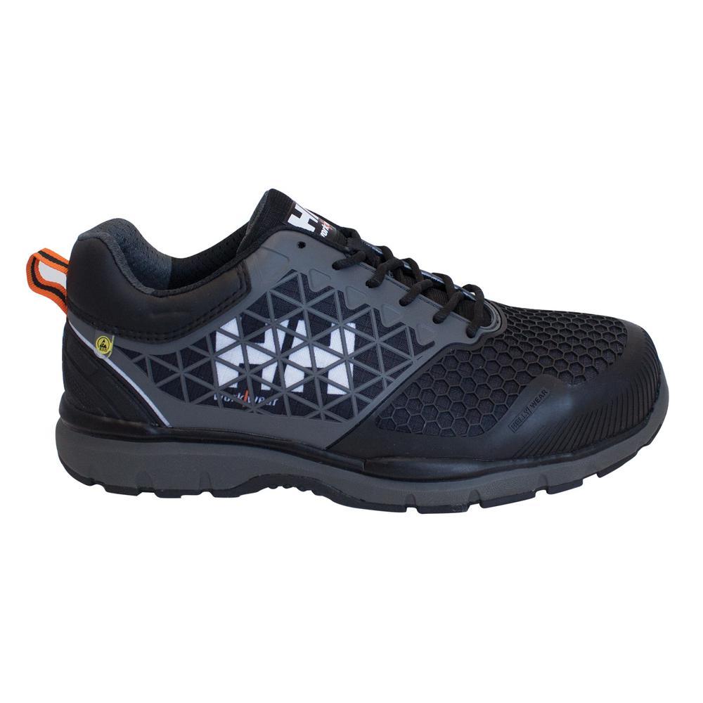 Helly Hansen Loki SD Men's Size 10 Black Nylon Composite Toe Static Dissipative Work Shoe, Blacks