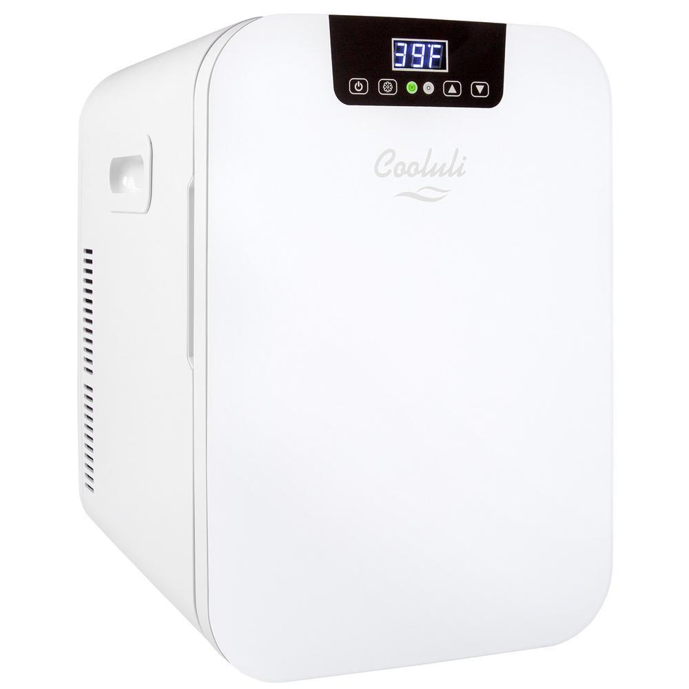 Concord 0.7 cu. ft. Retro Mini Fridge in White without Freezer