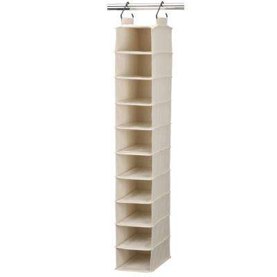 50 in. 10 Pocket Wide Over the Door 10-Pair Shoe Organizer