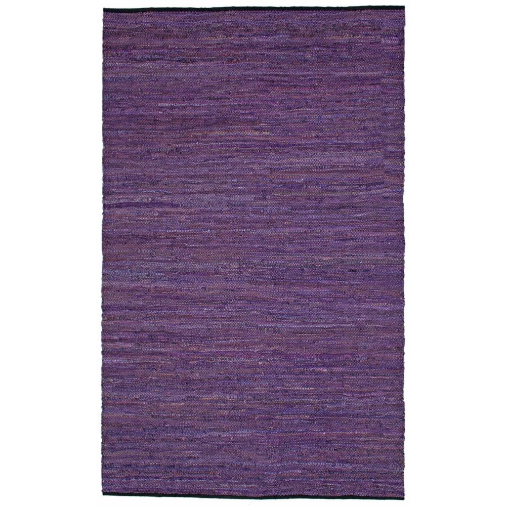 Leather Matador Purple 10 ft. x 14 ft. Area Rug