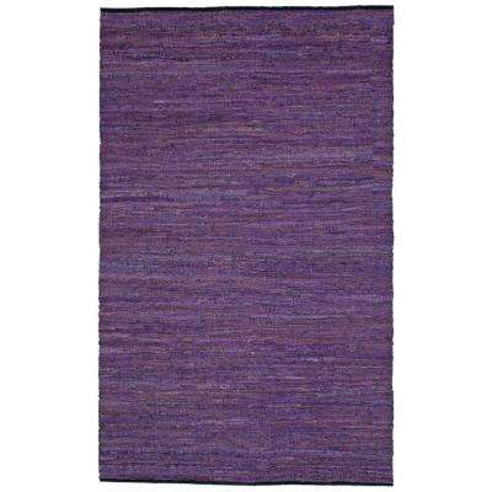 Leather Matador Purple 2 ft. x 3 ft. Area Rug