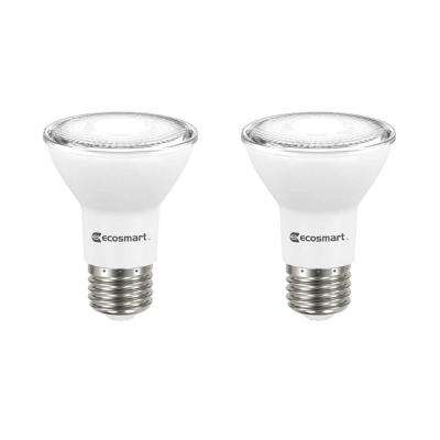 50-Watt Equivalent PAR20 Dimmable Energy Star LED Light Bulb Bright White (2-Pack)