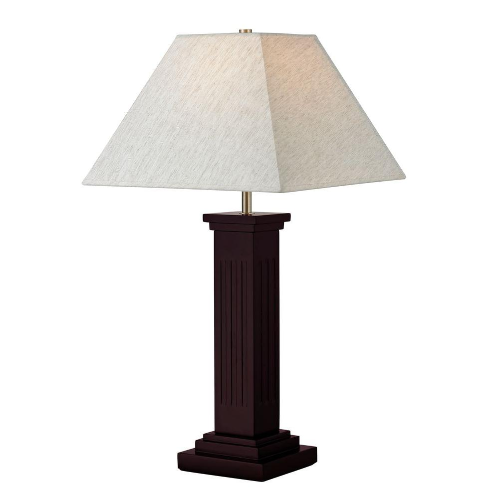 Attractive Filament Design Lavelle 26.5 In. Mahogany Table Lamp