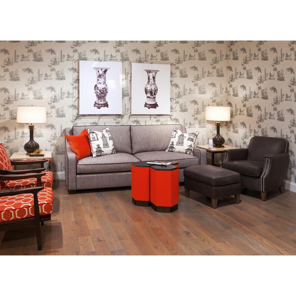Debut Collection Pagoda Toile Premium Matte Wallpaper