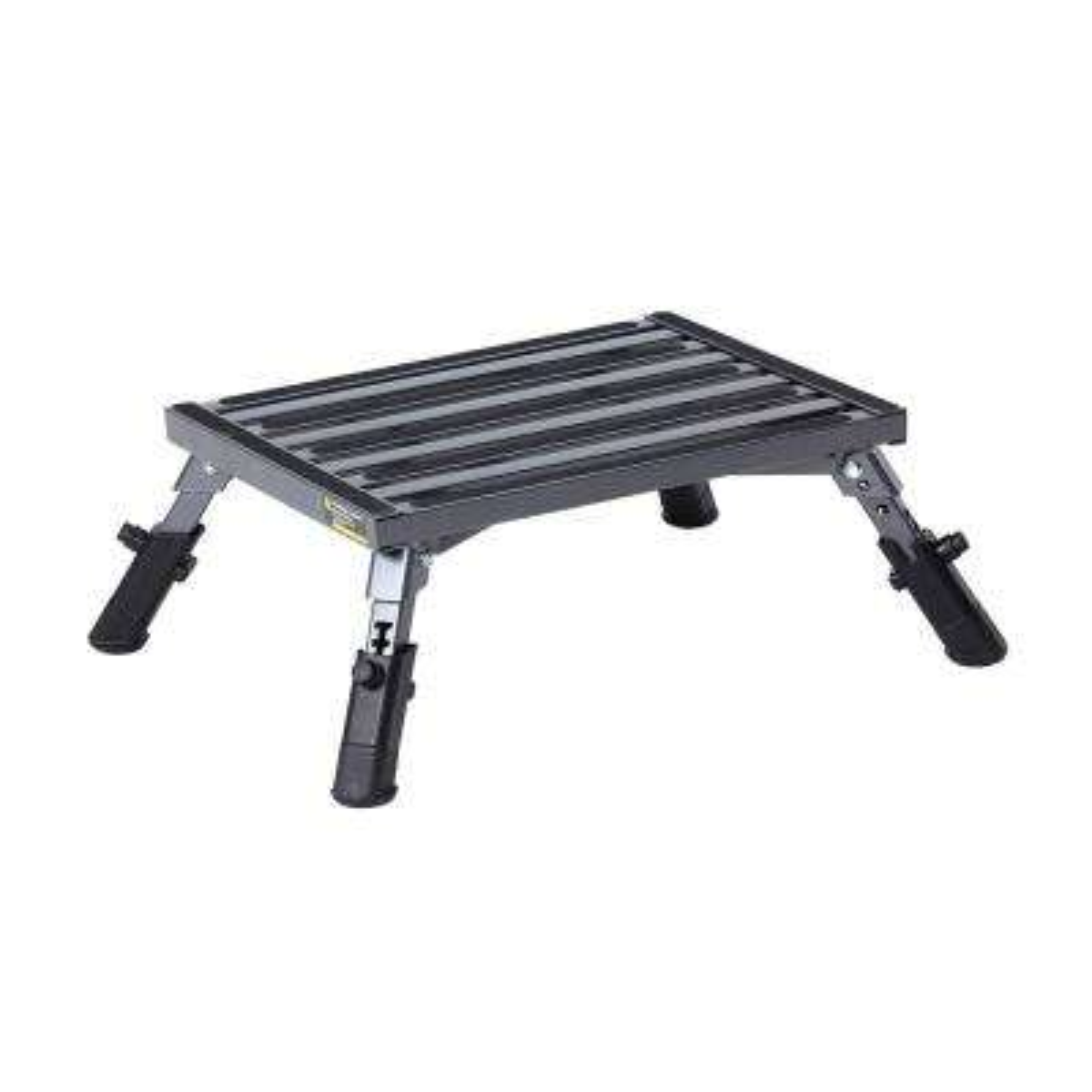 Adjustable Leg Aluminum Step