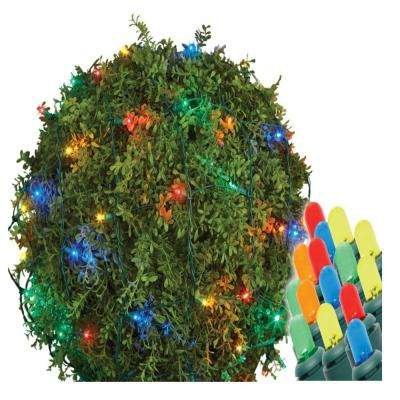 48 in. x 60 in. 150-Light LED Multi-Color Dome Twinkle Net Light