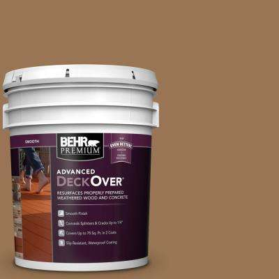 5 gal. #SC-115 Antique Brass Smooth Solid Color Exterior Wood and Concrete Coating