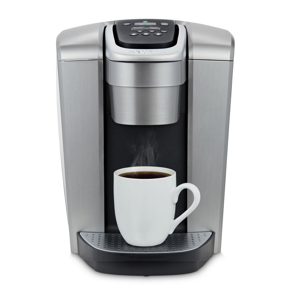 Keurig K Elite Single Serve Coffee Maker In Brushed Silver