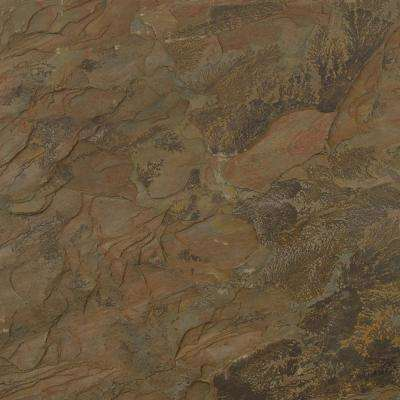 Multi 12 in. x 12 in. Gauged Slate Floor and Wall Tile (5 sq. ft. / case)