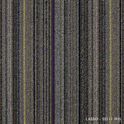 Lasso Iris Loop 19.68 in. x 19.68 in. Carpet Tiles (8 Tiles/Case)