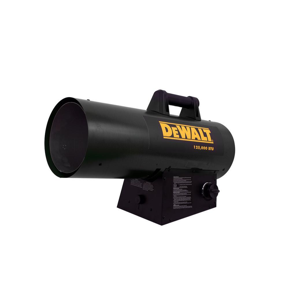 125,000 BTU Forced Air Propane Portable Heater