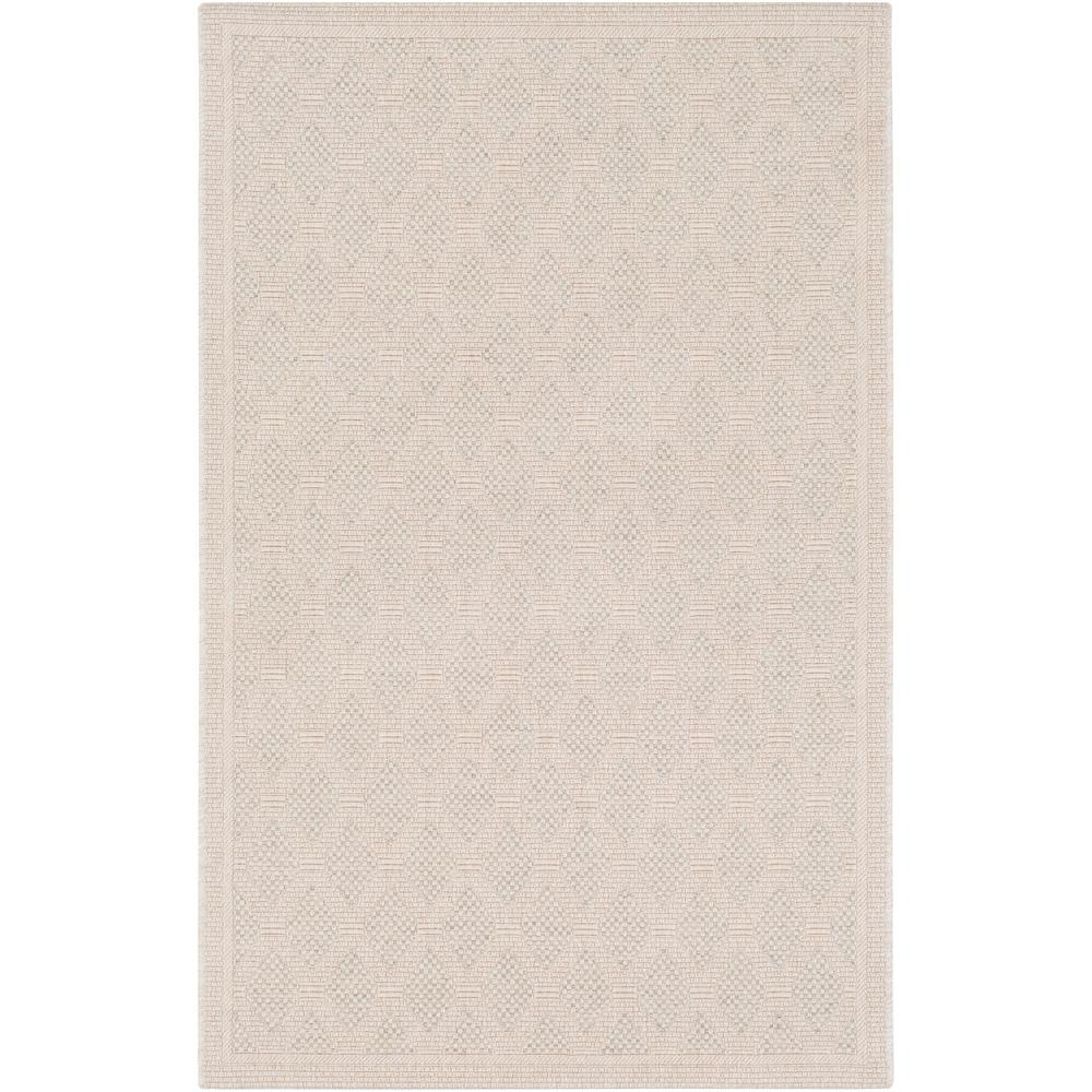Talbot Beige 8 ft. x 10 ft. Indoor/Outdoor Area Rug