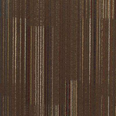 Contractor Dark Brown Loop 24 in. x 24 in. Modular Carpet Tile Kit (18 Tiles/Case)