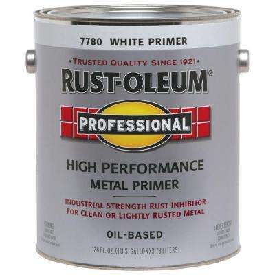 1 gal. White Clean Metal Flat Rust Preventive Primer (Case of 2)