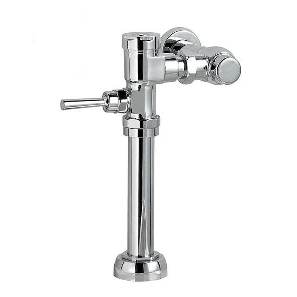 American Standard Manual FloWise 1.28 GPF Valve Only Retrofit Toilet Flush Valve in Polished Chrome