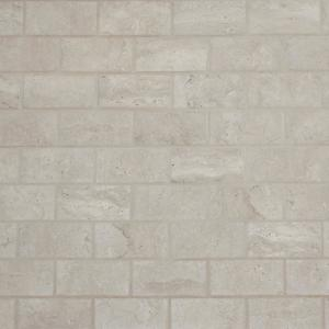Northpointe Greystone 12 in. x 12 in. x 6.35mm Ceramic Mosaic Floor and Wall Tile (0.83 sq. ft. / Piece)