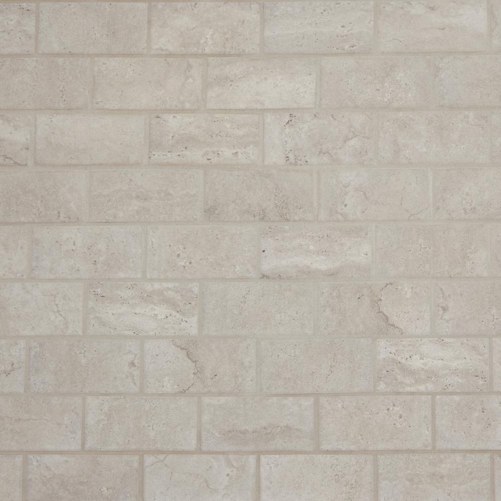 Daltile Northpointe Greystone 12 in. x 12 in. x 6.35 mm Ceramic Mosaic Floor and Wall Tile (0.83 sq. ft. / piece)