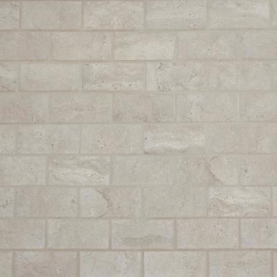 Northpointe Greystone 12 in. x 12 in. x 6.35 mm Ceramic Mosaic Floor and Wall Tile (0.83 sq. ft. / piece)
