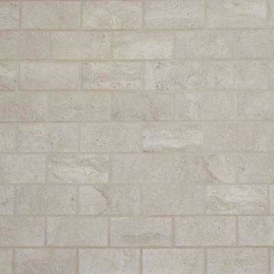 Northpointe Greystone 12 in. x 12 in. x 6.35 mm Ceramic Mosaic Tile