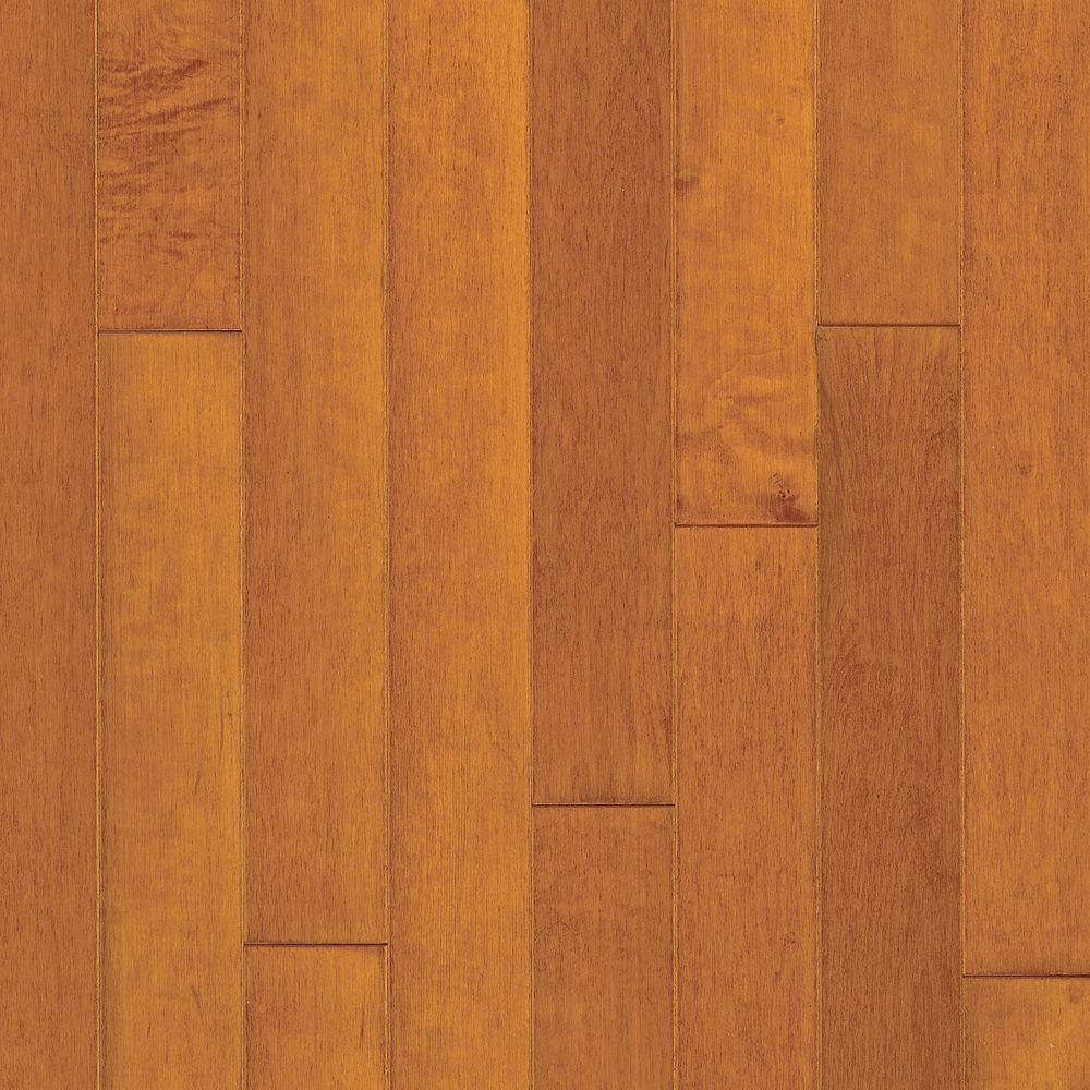 Bruce Town Hall Plank 3/8 in. Thick x 3 in. Wide x Random Length Maple Cinnamon Engineered Hardwood Flooring(25 sq. ft. /case)