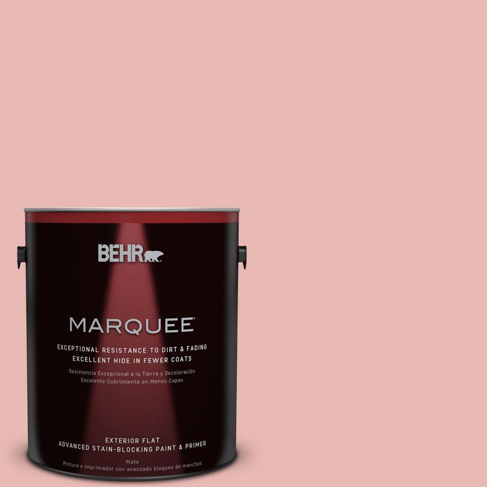 BEHR MARQUEE 1-gal. #MQ4-4 Noble Blush Flat Exterior Paint