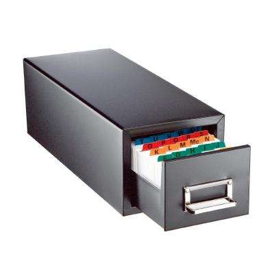 5 in. x 8 in. Steel File Card Drawer