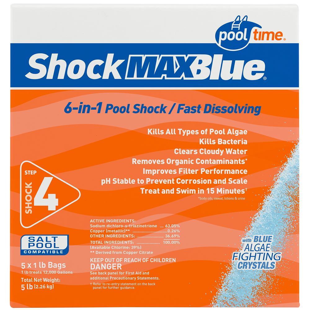 Pool Time MAXBlue 1 lb. Shock (5-Pack)