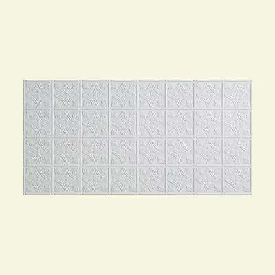 Traditional 1 - 2 ft. x 4 ft. Glue-up Ceiling Tile in Matte White