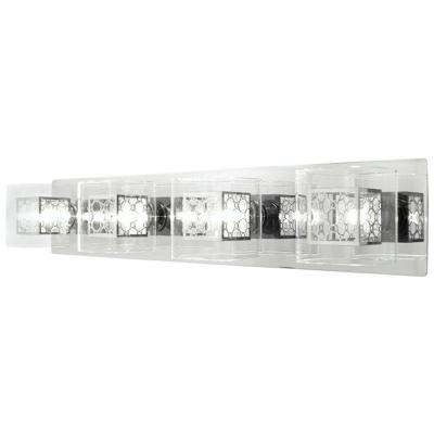 Drioleg 4-Light Chrome Bath Vanity Light