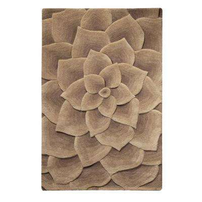 Corolla Taupe 10 ft. x 14 ft. Area Rug