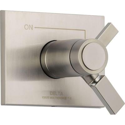 Vero TempAssure 17T Series 1-Handle Volume and Temperature Control Valve Trim Kit Only in Stainless (Valve Not Included)