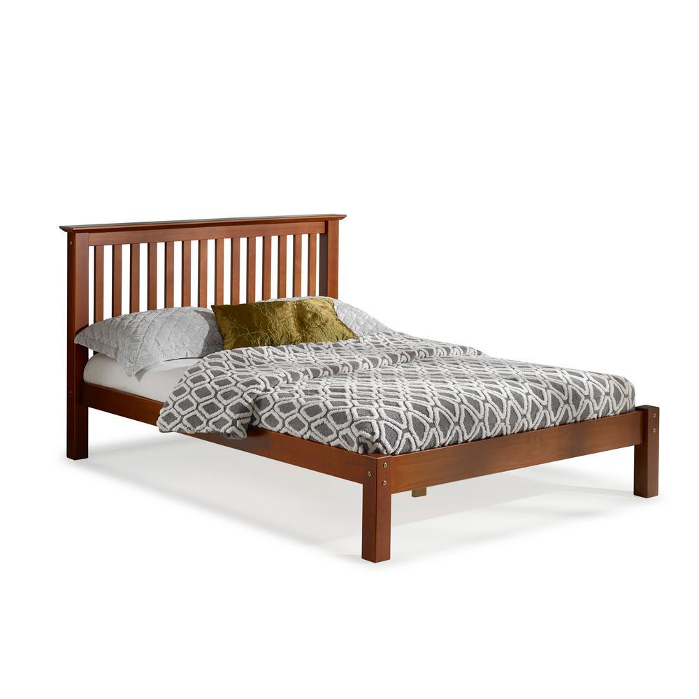 Barcelona Chestnut Full Bed