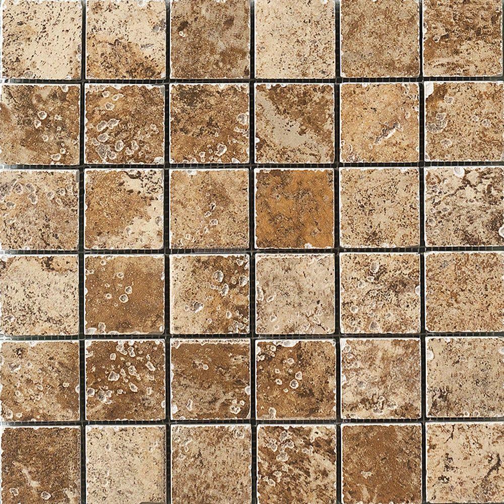 MARAZZI Montagna Belluno 12 in x 12 in Porcelain Mosaic Floor