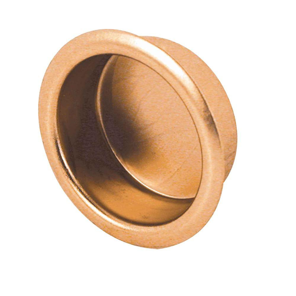 Solid Brass Sliding Closet Door Finger Pulls (