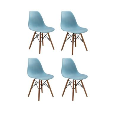 Nantes Blue DSW Dining Side Chair (Set of 4)