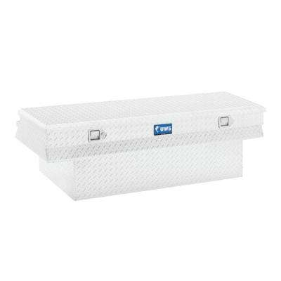 60 in. Aluminum Single Lid Crossover Deep Angled Tool Box with Low Profile