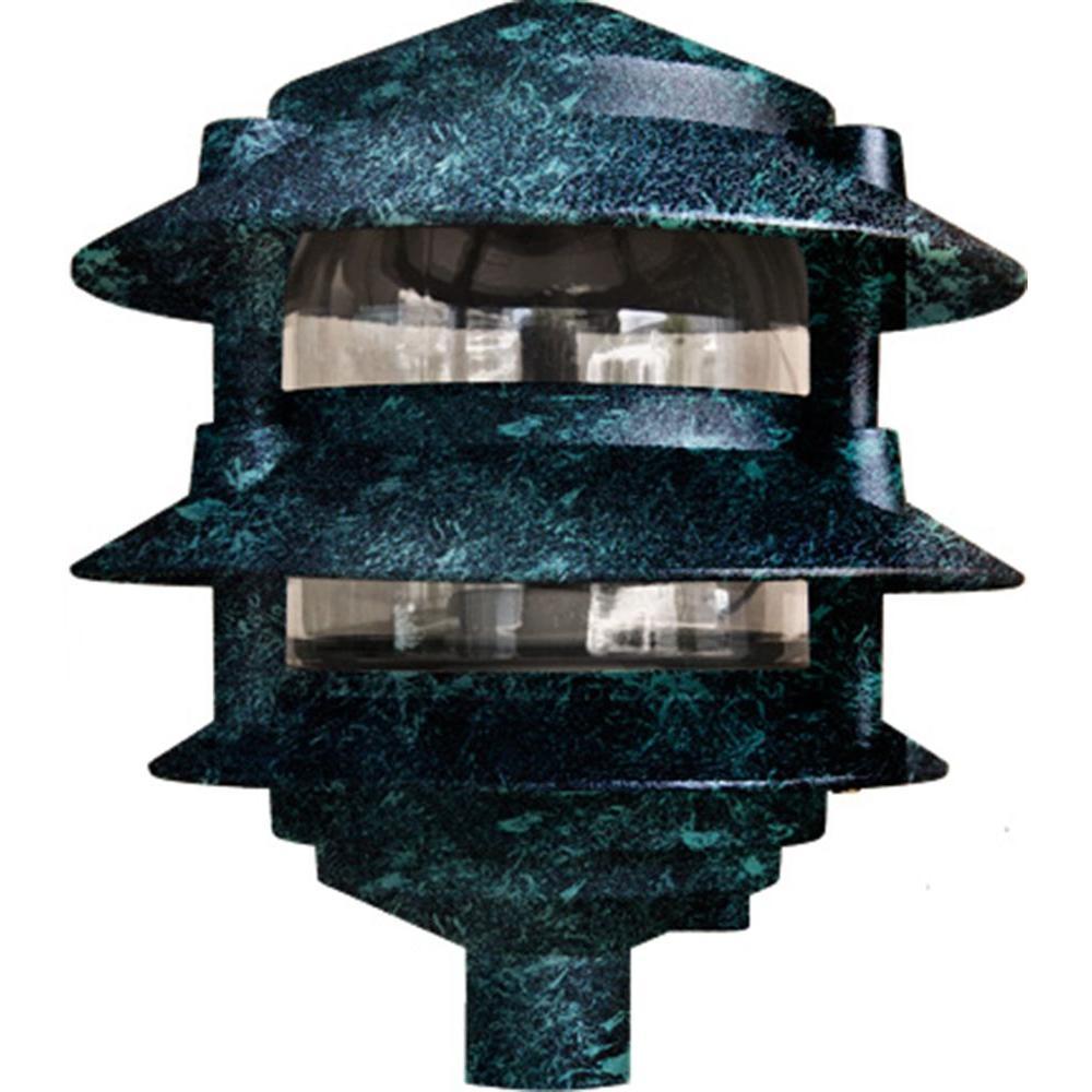 Filament Design Corbin 1-Light Verde Green 3-Tier Outdoor