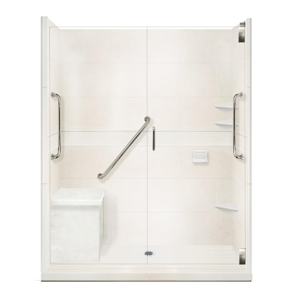 Classic Freedom Grand Hinged 30 In. X 60 In. X 80