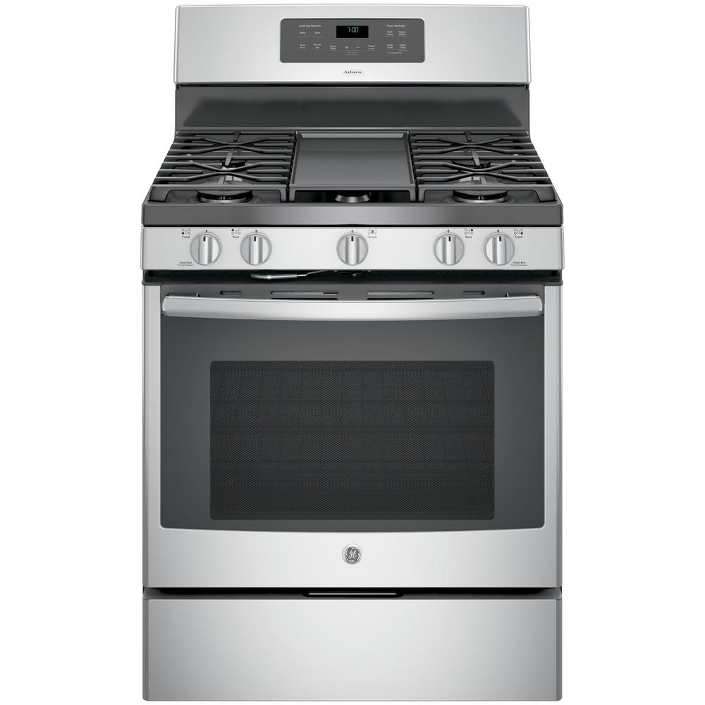 ge adora 50 cu ft gas range with self cleaning convection oven in - Kitchen Stove