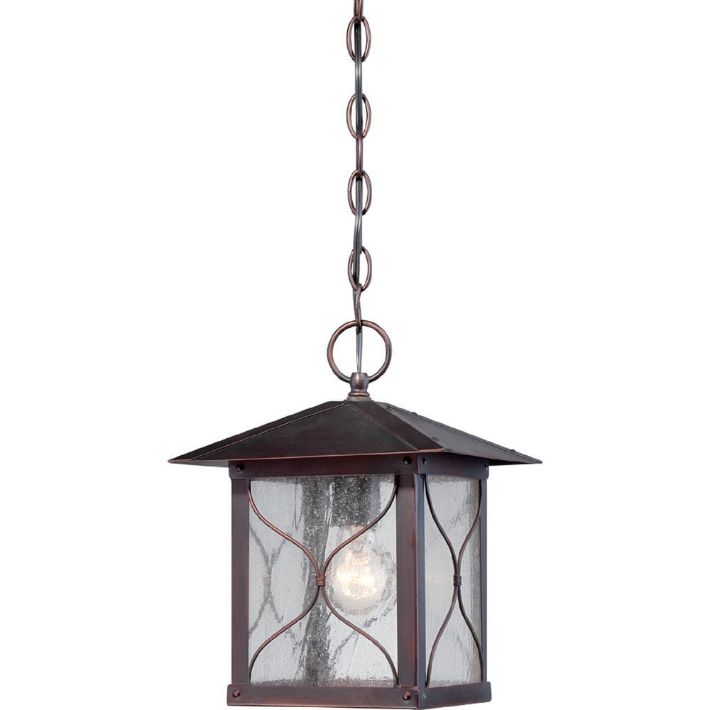 Avery Classic Bronze 1-Light Outdoor Hanging Lantern