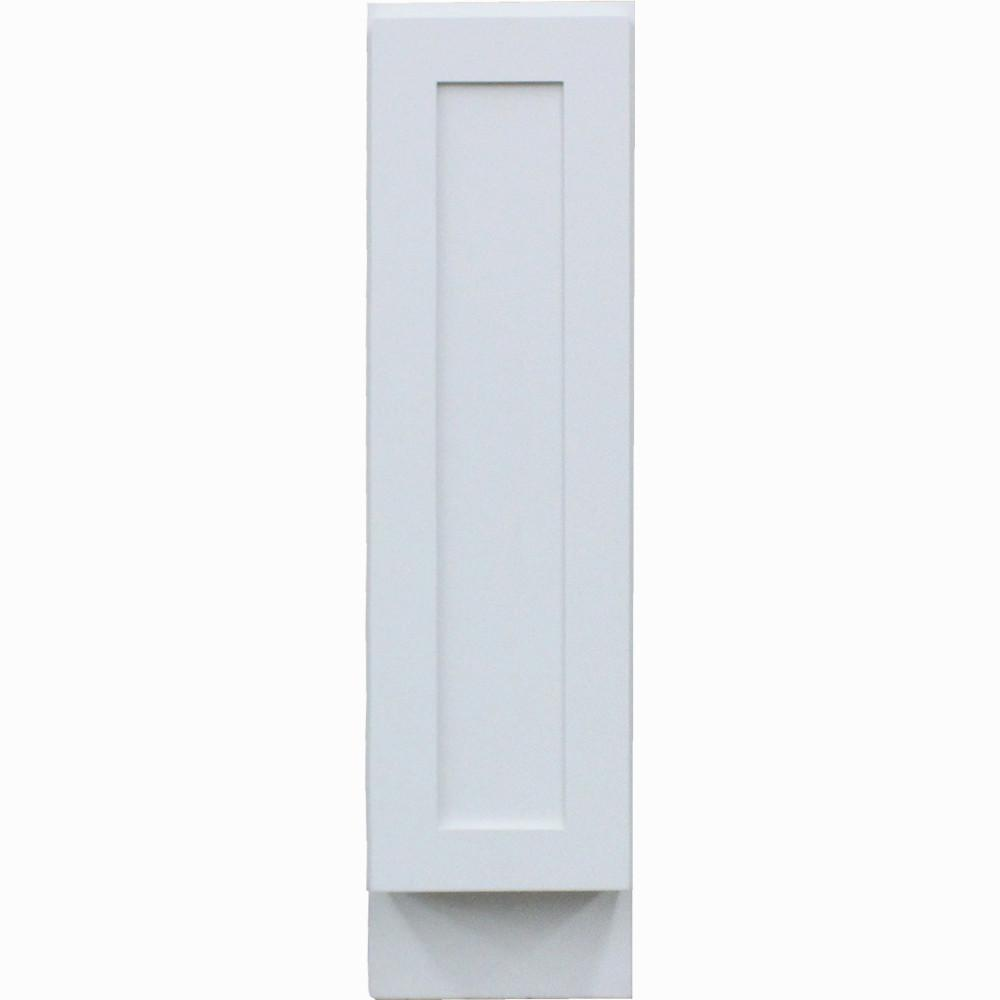 Krosswood Doors Shaker II Ready to Assemble 9x34.5x24 in. Frosted Full Height Door  sc 1 st  Home Depot & Krosswood Doors Shaker II Ready to Assemble 9x34.5x24 in. Frosted ...
