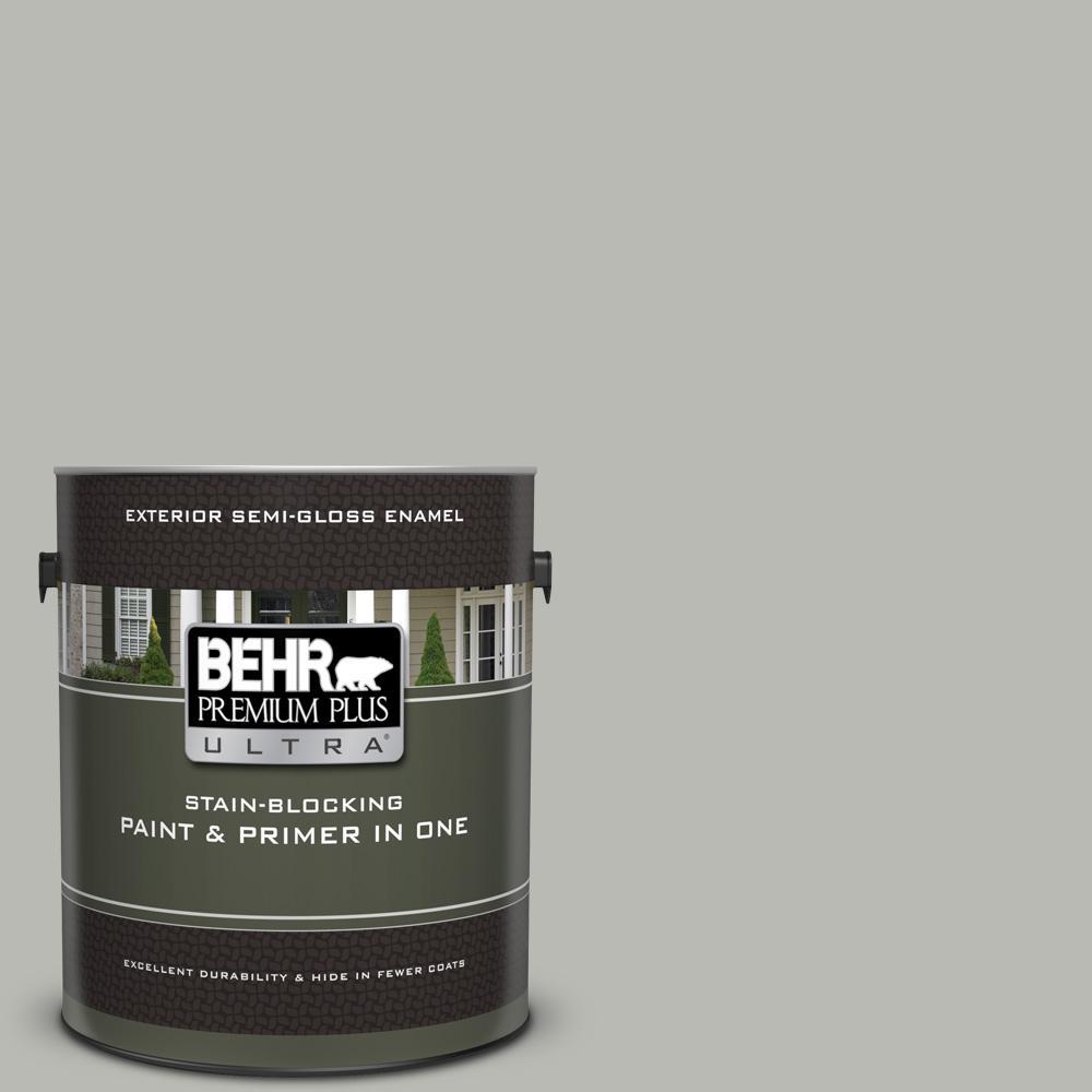 Behr Premium Plus Ultra 1 Gal N380 3 Weathered Moss Semi