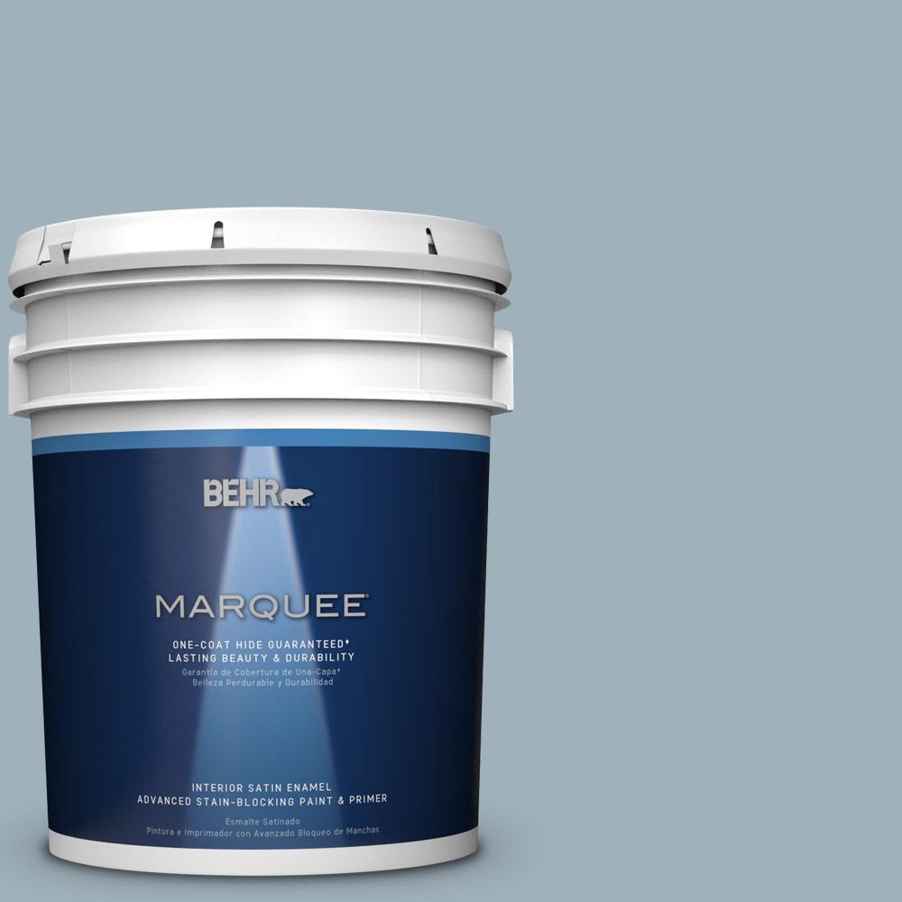 5 gal. #MQ5-59 Ovation One-Coat Hide Satin Enamel Interior Paint