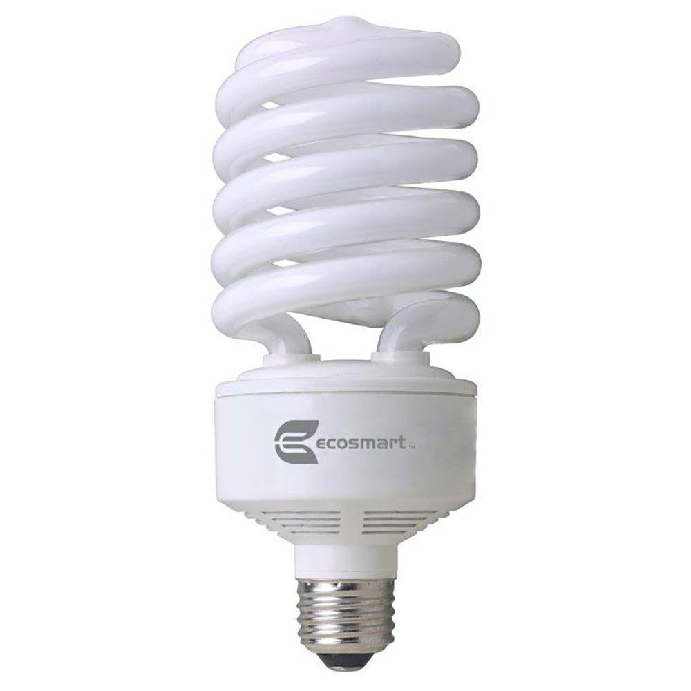 150W Equivalent Soft White Spiral CFL Light Bulb
