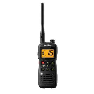 8 Mile 88 Channel Handheld Floating 2-Way VHF Marine Radio