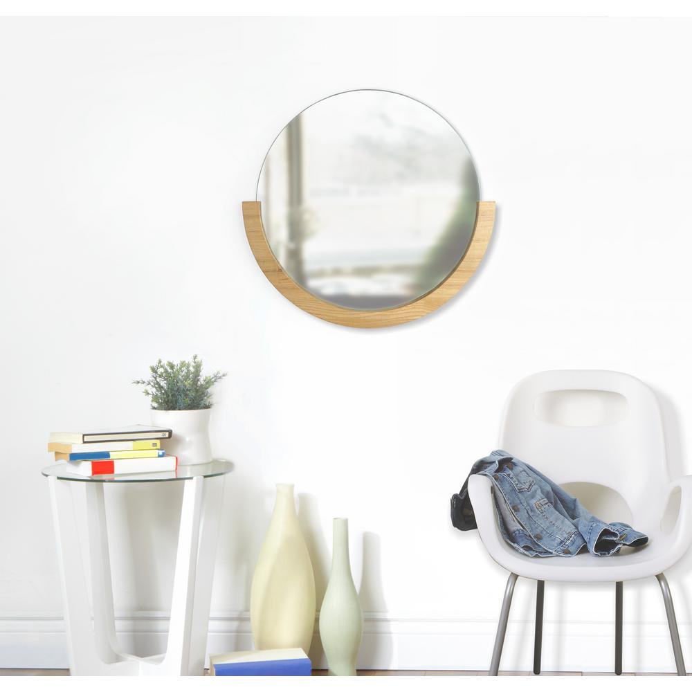 Natural Mira Wall Mirror