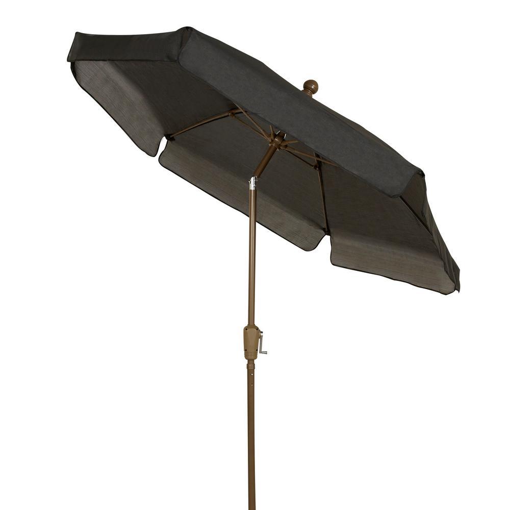 7.5 ft. Market Tilt Patio Umbrella in Black